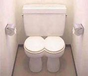 double-toilet