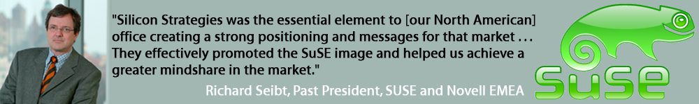 SuSE/Novell - a Silicon Strategies Marketing client