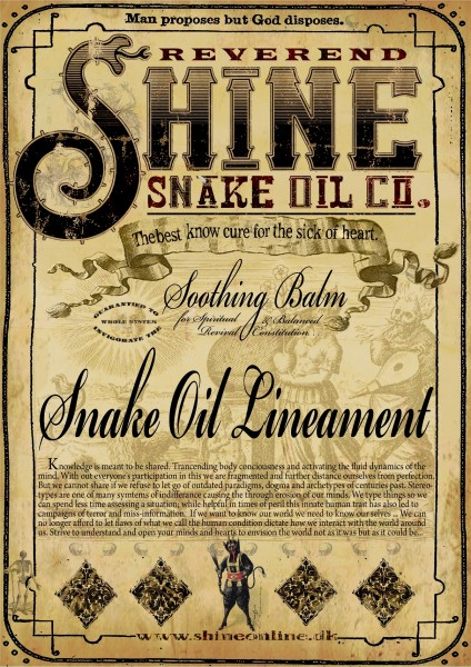belief branding and snake-oil marketing