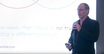 Guy Smith speaking at Draper University on the marketing mistakes that kill startups